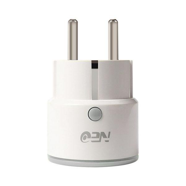 NEO WiFi EU Smart Plug Smart Switch Timing Socket Wireless Outlet Support Amazon Alexa Google Home IFTTT white