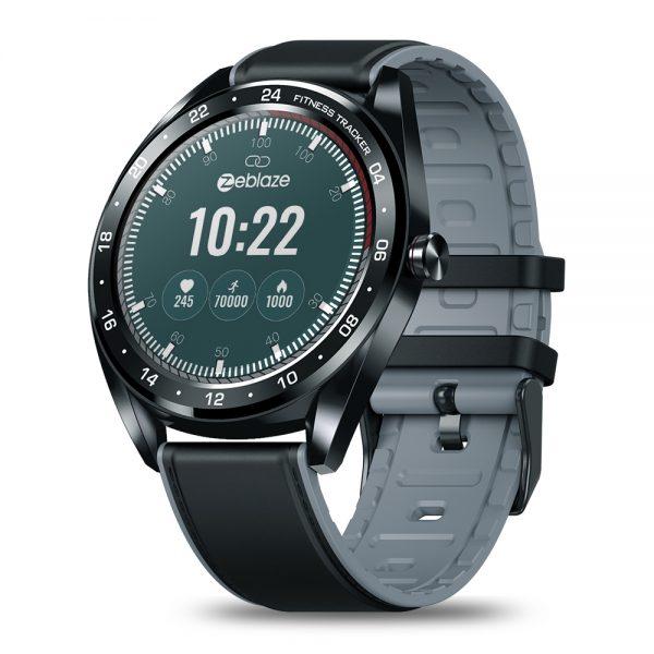 Zeblaze NEO Color Touch Smart Watch Heart Rate Blood Pressure Monitor Female Health Waterproof Watch black