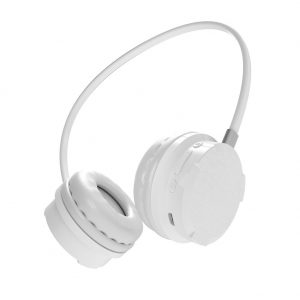 Bluetooth Headset Gaming with Microphone 7.1 Sound Channel Headphone for Music Mobile Phone Game white