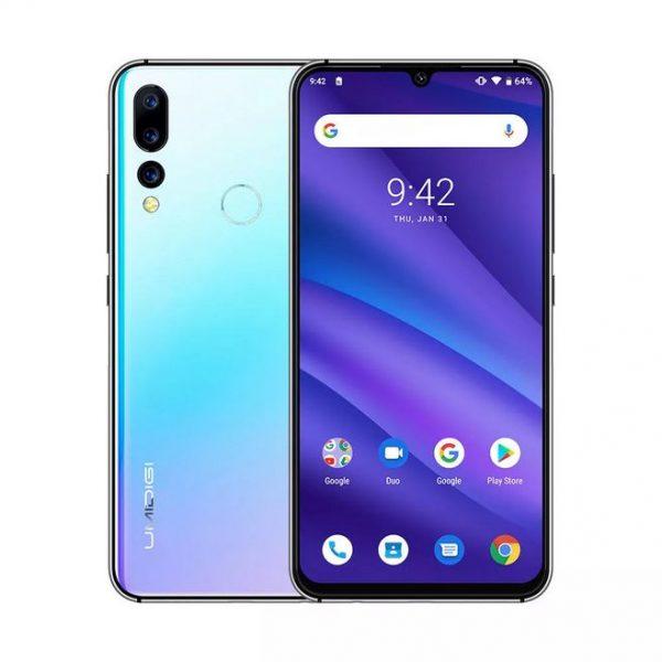 UMIDIGI A5 PRO 4G Smartphone Android 9.0 Octa Core 6.3' 4GB RAM 32GB ROM 4150mAh Celular Mobile Phone Crystal-EU