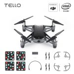 DJI Tello EDU Boost Combo Mini Drone Perform Flying Stunts Shoot Video with EZ Shots Toy Plane 2 battery 1