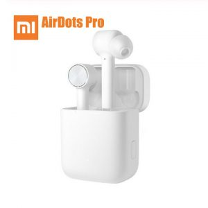 Xiaomi Airdots Pro TWS Wireless IPX4 Waterproof Bluetooth Headset Earphone with Mic Stereo ANC Switch Auto Pause Tap Control Earbuds  white
