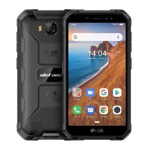 Ulefone Armor X6 Phone 5.0inch HD Screen 2G RAM+16GB ROM Memory 5MP+8MP Camera 4000mAh Battery Android 9.0 OS black