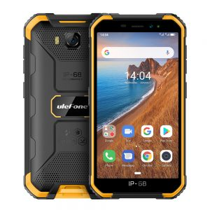 Ulefone Armor X6 Phone 5.0inch HD Screen 2G RAM+16GB ROM Memory 5MP+8MP Camera 4000mAh Battery Android 9.0 OS yellow