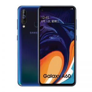 Samsung Galaxy A60 6+128GB 4G Android Smartphone 6.3 inch Full Scree 3500mAh 32MP Camer NFC Cellphones Tannin Black