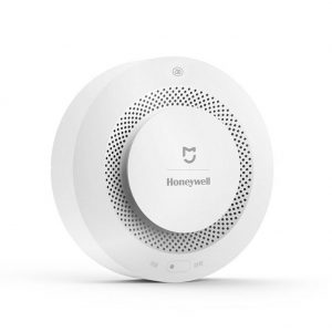 WIFI Remote Control XIAOMI Smoke Alarm Fire Sensor for Kitchen Household Smoke Detection white