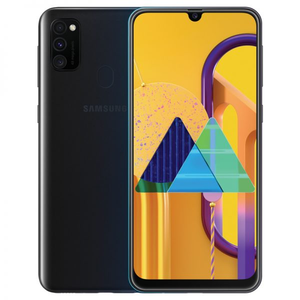 Samsung Galaxy M30S 6.4inch Screen 6GB RAM+128GB ROM 6000mAh Battery Dual SIM Cards 48MP Camera 4G Smartphone Black_6G+128G