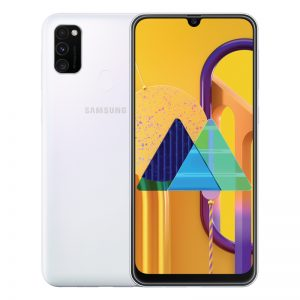 Samsung Galaxy M30S 6.4inch Screen 6GB RAM+128GB ROM 6000mAh Battery Dual SIM Cards 48MP Camera 4G Smartphone White_6G+128G
