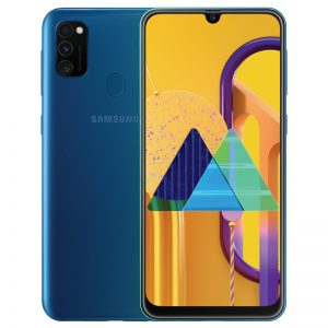 Samsung Galaxy M30S 6.4inch Screen 6GB RAM+128GB ROM 6000mAh Battery Dual SIM Cards 48MP Camera 4G Smartphone Blue_6G+128G
