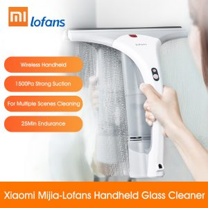 Xiaomi Lofans Electric Glass Handheld Cleaner Window Car Desktop Cleaning Machine Wireless Suction Brush white