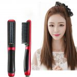 Hair Straightening Brush Straight Hair Comb Dual-use for Curly Hair U.S
