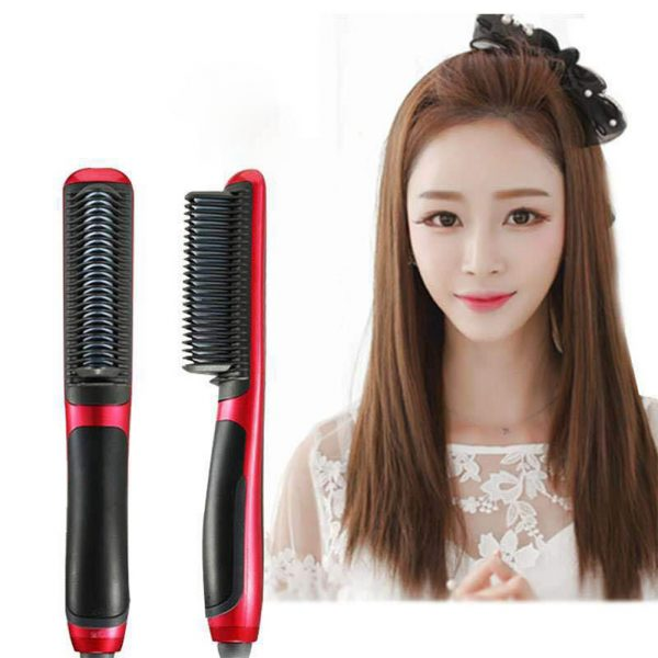 Hair Straightening Brush Straight Hair Comb Dual-use for Curly Hair U.S. regulations