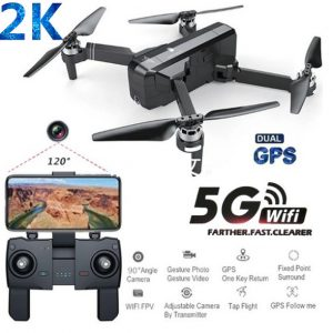 SJRC F11 PRO GPS 5G Wifi FPV With 2K Camera 25mins Flight Time Brushless Selfie RC Drone Quadcopter 1 battery