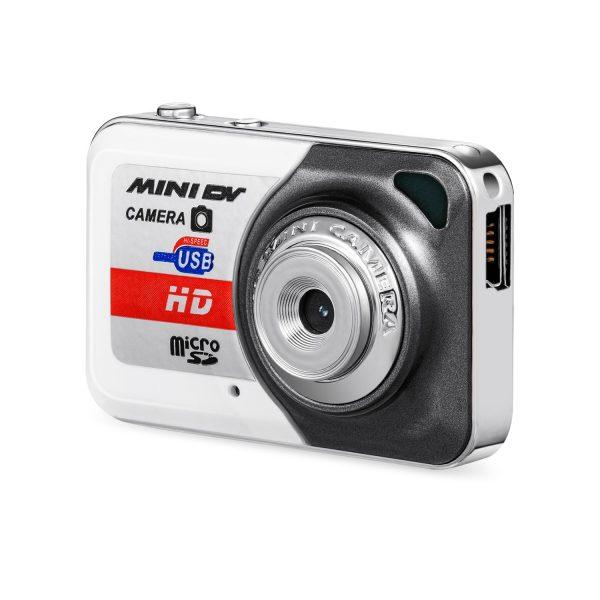 Mini Camcorder Small Portable DV HD Camera DVR Motion Detection Separate Recording Camera gray