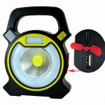 Multifunctional Portable USB Charging High Power Flashlight COB Work Light Outdoor Tent Camping Lamp As shown 1