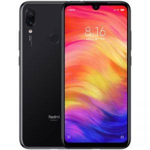 Xiaomi Redmi Note 7 4GB 64GB Snapdragon 660 Octa Core 48MP Camera 6.3'' Water Drop FHD Screen Mobile Phone Black