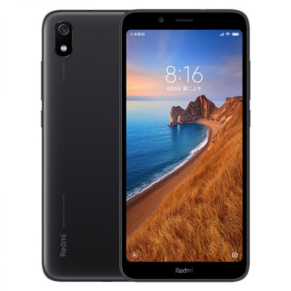 "Xiaomi Redmi 7A Mobile Phone Snapdargon 439 Octa core 5.45"""" HD 4000mAh Battery 13MP Rear Camera Matte Black_2+32G"