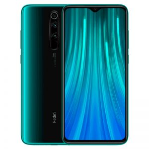 "Xiaomi Redmi Note 8 Pro Smartphone MTK Heilo G90T 18W Quick Charge 64MP Camera 4500 mAh NFC 6.53"""" Ice jade_6+128G"