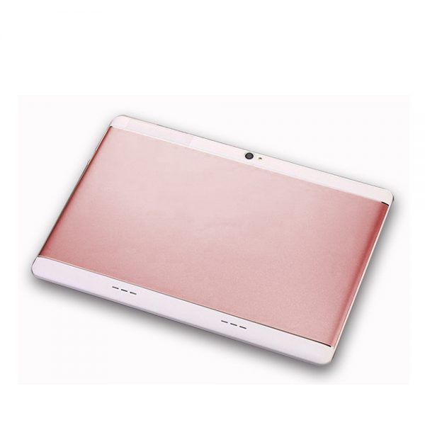 3G Call Tablet PC - 10.1-Inches, IPS Display, MT6580 Quad-Core, 1GB RAM 16GB ROM, 30W Camera, Changeable - Rose Gold, EU PLUG