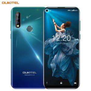 OUKITEL C17 Pro 6.35'' Android 9.0 19:9 MT6763 4GB 64GB Smartphone Face ID Octa Core 3900mAh Triple Camera 4G Mobile Phone Gradient