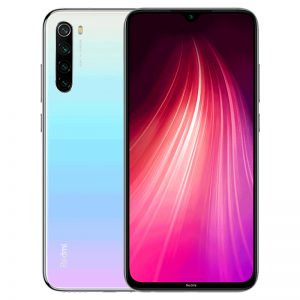 "Xiaomi Redmi Note 8 Smartphone CN version Snapdragon 665 48MP Camera 4000mAh 6.3"""" 18W Quick charge Moon white_4+64G"