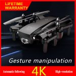 A908 Drone 4K/1080P HD Aerial Professional Drones Wifi FPV Quadcopter Intelligent Follow Flight 20min RC Helicopter Drone Toy Black 4K 1